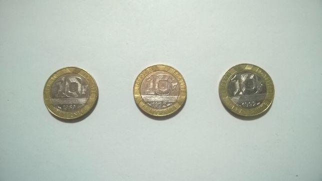 Moedas República Francesa - 10 Franco