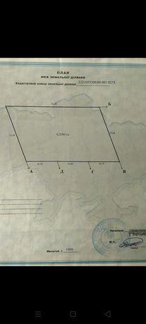 Продам земельну ділянку під ОСГ