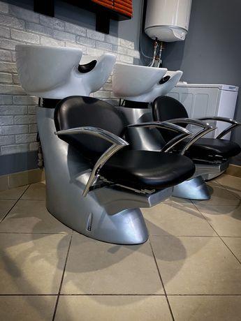 кресла парикмахерские, мойки парикмахерские б/у