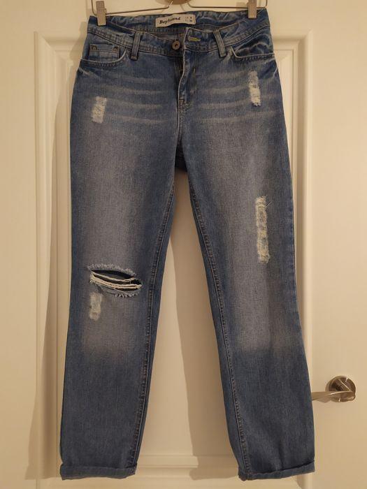 Spodnie jeansowe New Look- Boyfriend Lublin - image 1