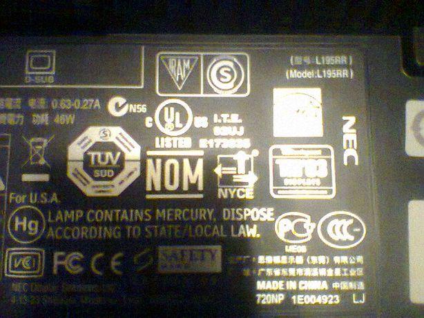 Zasilacz do monitora LED firmowy NEC