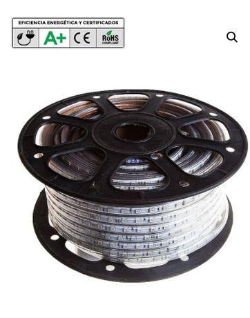 Fita LED 220v ref. 5050 MULTICOLOR (RGB) Consumo: A++