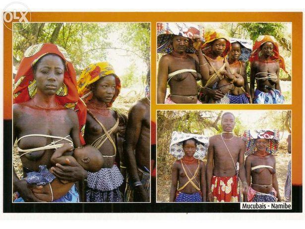 Postal de Angola - Mucubais - Namibe (Portes Incluídos)