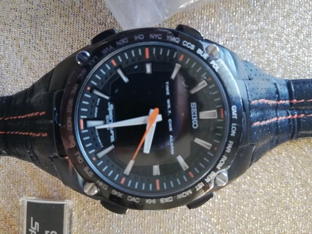 Zegarek seiko męski +nowy pasek