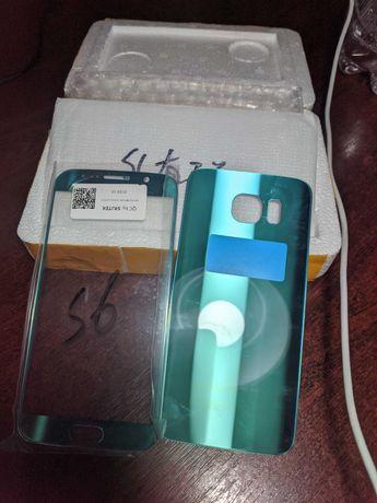 Samsung galaxy S6 стекло экрана и задняя крышка