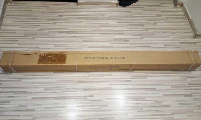 Ekran projekcyjny - Reflecta Crystal-Line Motor Lux 160x160 cm - NOWY