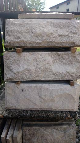 Kamień elewacyjny piaskowiec jasny Szydłowiec
