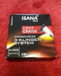 Станок для бритья Isana Men Griff Gratis 3 + 8 кассет