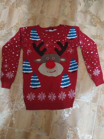 Туника,свитер Новогодний