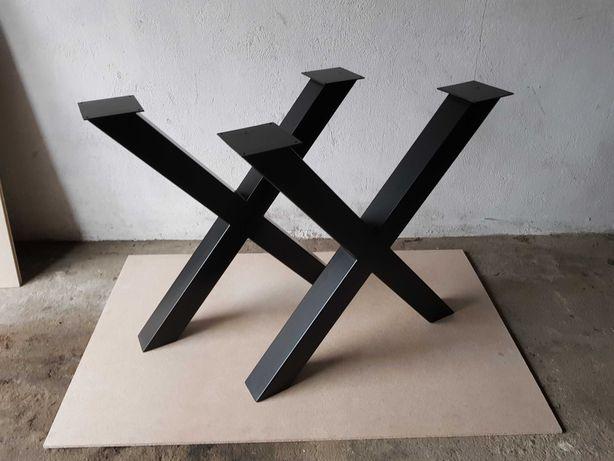 Nogi do stołu X,Loft, industrialny X