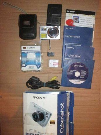 Фотоаппарат SONY DSC W110 7.2 MP Full HD1080, optical zoom 4x