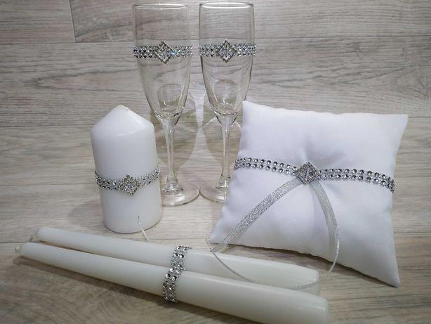 Подушечки для колец и другие свадебные аксессуары. Распродажа!!!