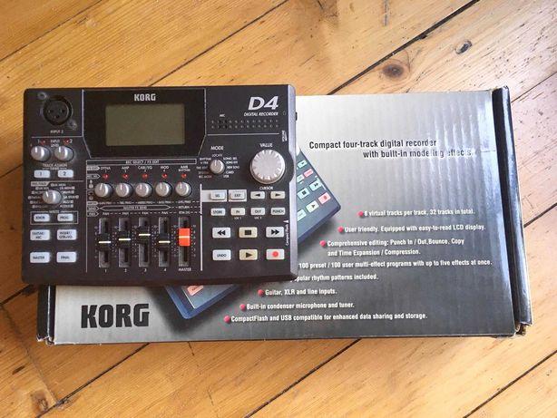 Korg D4 multiefekt/mikser 4/studio nagrań