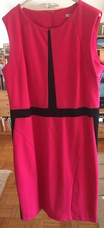 Śliczna Sukienka damska XL różowa 42 garsonka