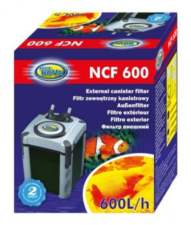 Ul Korczaka1 Filtr zewnętrzny aqua nova ncf 600