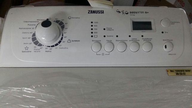 Вертикальная новая с Дисплеем! стиральная машина Zanussi ZWQ 1200об
