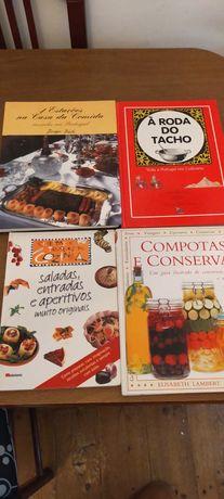 Vendo livros de culinária