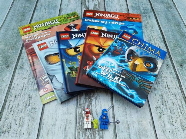 Lego NINJAGO - zestaw książek + GRATISY
