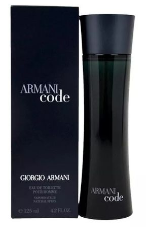 Armani Code . Perfumy męskie. EDT. 125ml. Black. NAJTANIEJ