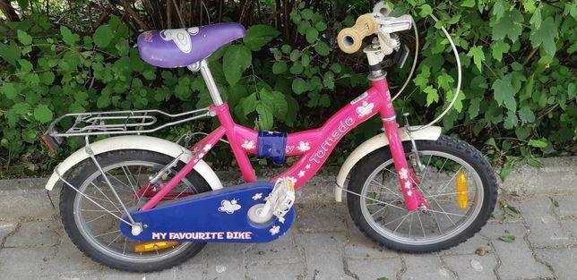 """Rower dla dziewczynki koła 16"""""""