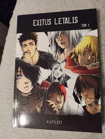 Manga exitus letalis tom 1 kattlett