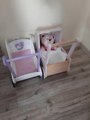 Wózek drewniany, pchacz drewniany wózek