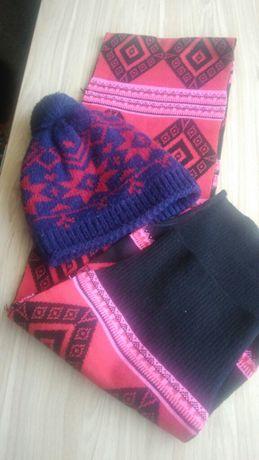 Продам шапку и шарф на зиму