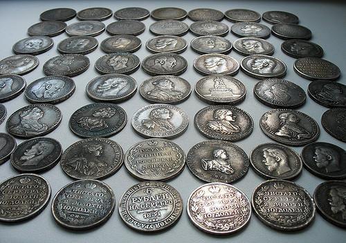 Монеты царск0ой России копии редких монет