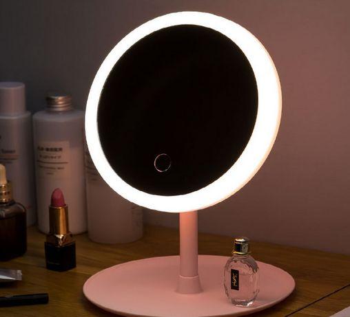 Зеркало для макияжа с LED подсветкой! Удобное зеркало со светом!