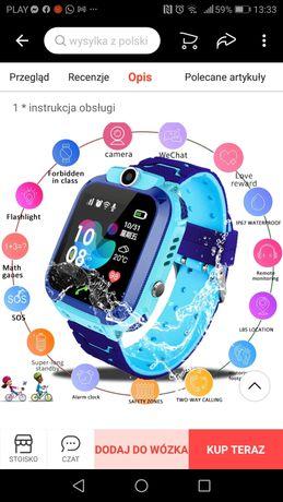 Zagarek dla dzieci, funkcja GPS, podsluchu, sms, tel