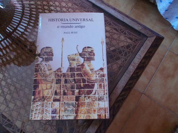 Livro história universal de Paul petit O mundo antigo