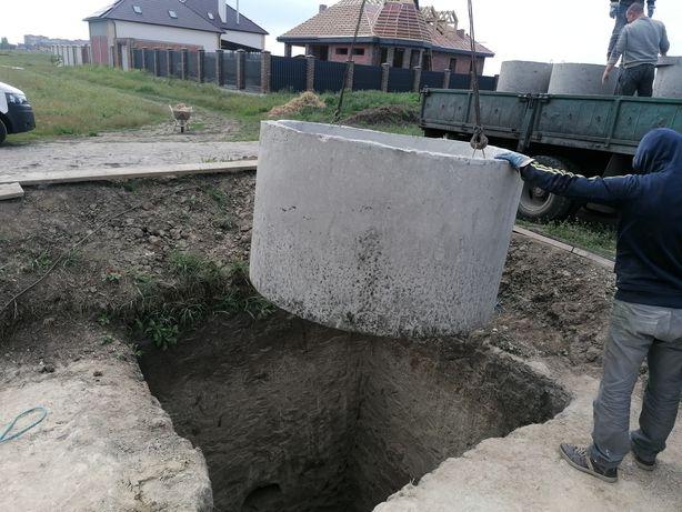 Выгребная яма из Ж. Б. И колец под ключ