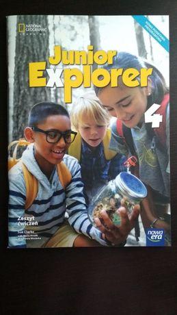 Junior Explorer 4 zeszyt ćwiczeń National Geographic Nowa Era