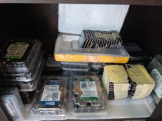 Жорсткі диски 80-1000Gb, hdd 2.5, hdd 3.5 вінти IDE,SATA ПЕРЕВІРЕНІ