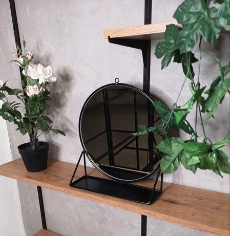 Lustro industrialne lusterko czarne