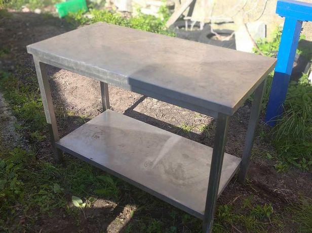 Blat roboczy, stół, nierdzewny, DORA METAL 120 cm x 60 cm
