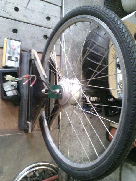 мотор-колесо электровелосипеда электросамоката