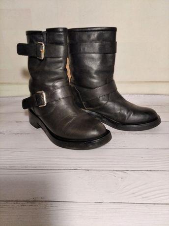 Итальянские кожаные  сапожки д/с Vera Comma
