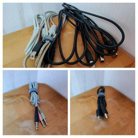 Кабели - Удлинитель USB, USB к Type B разной 1/2 м