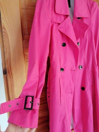 Płaszcz przejściowy różowy