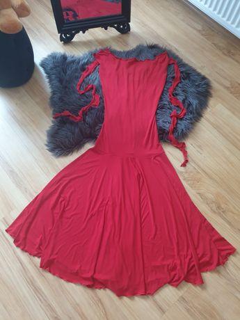 Sukienka treningowa do tańca towarzyskiego styl standard rozmiar S/M