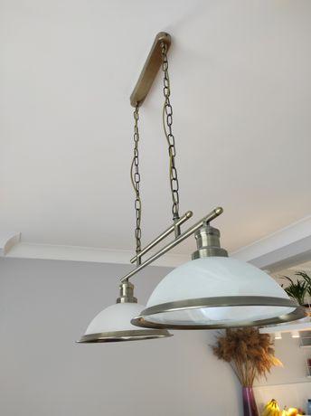 Lampa Searchlight Bistro patyna