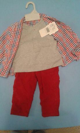 Koszula + spodnie rozmiar 74