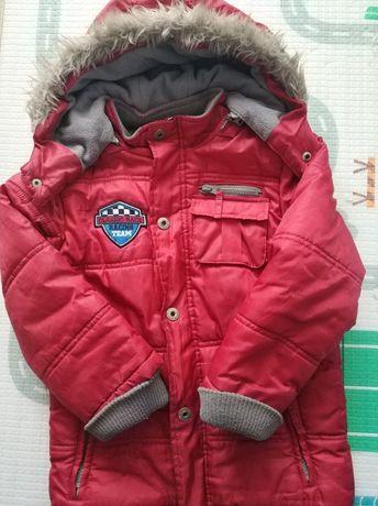 Zimowa kurtka chłopięca
