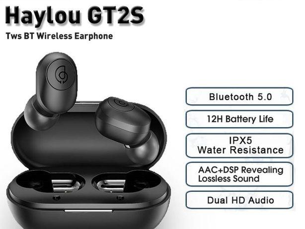Новинка! Xiaomi Haylou gt2s Наушники Haylou (Хэйлоу) GT2S с кнопками