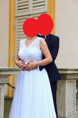 Suknia ślubna, rozm. 40-42