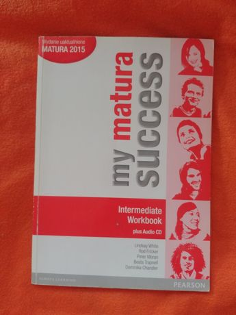 My matura success, intermediate, workbook, PEARSON, ćwiczenia