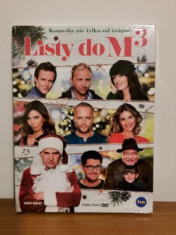 """Film DVD """"Listy do M 3"""" nowy, folia"""