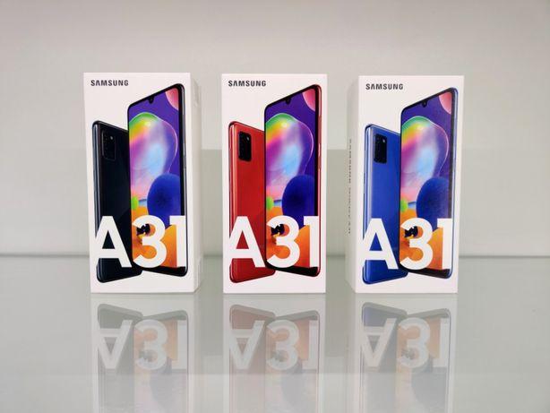 Магазин! Официальные Samsung Galaxy A31 4/64, 4/128GB. 1 ГОД ГАРАНТИИ