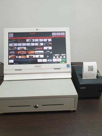 POS Touch MSI C/ Gaveta e Impressora Taloes